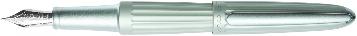 Diplomat Aero Fountain Pen - Matte Silver