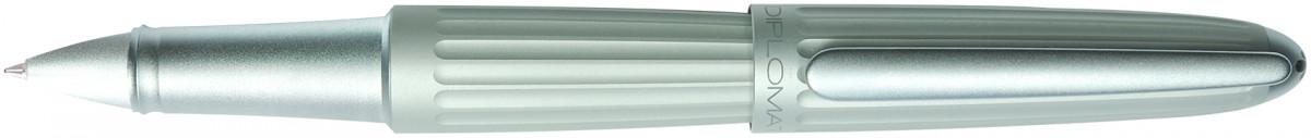 Diplomat Aero Rollerball Pen - Matte Silver