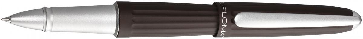 Diplomat Aero Rollerball Pen - Metallic Brown
