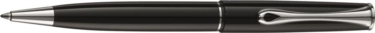 Diplomat Esteem Ballpoint Pen - Gloss Black Chrome Trim