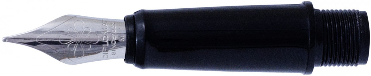 Diplomat Esteem Black Nib - Stainless Steel