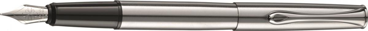 Diplomat Esteem Fountain Pen - Matt Chrome