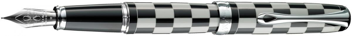 Diplomat Excellence A+ Fountain Pen - Rome Black & White