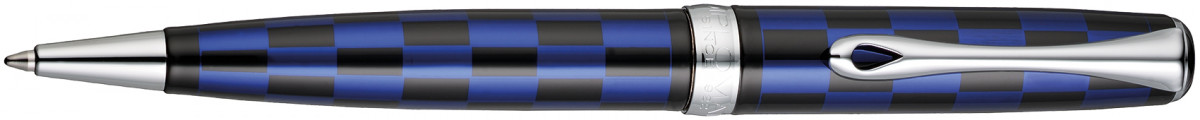 Diplomat Excellence A+ Ballpoint Pen - Rome Black & Blue