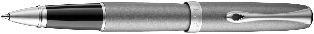 Diplomat Excellence A2 Rollerball Pen - Venezia Platin Matte Chrome