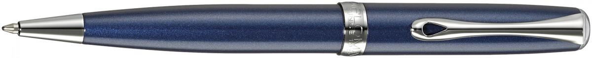 Diplomat Excellence A2 Ballpoint Pen - Midnight Blue Chrome Trim