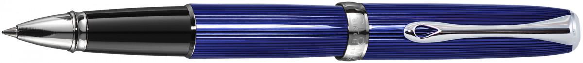 Diplomat Excellence A2 Rollerball Pen - Skyline Blue Chrome Trim