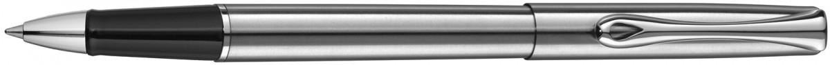 Diplomat Traveller Rollerball Pen - Stainless Steel Chrome Trim