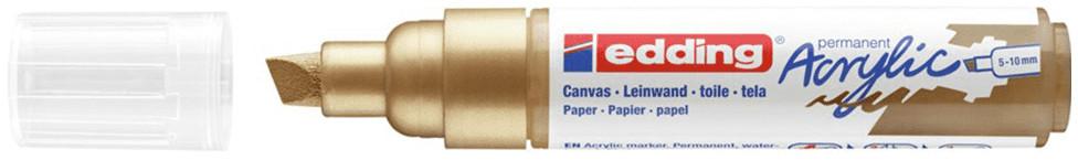 Edding 5000 Acrylic Paint Marker - Chisel Tip - Broad