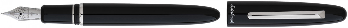 Esterbrook Estie Fountain Pen - Ebony Palladium Trim