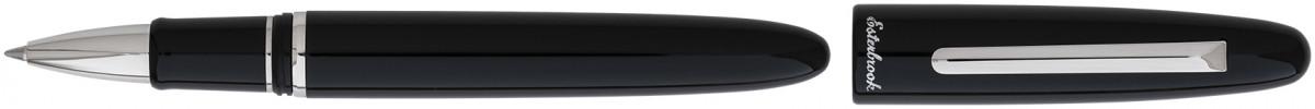 Esterbrook Estie Rollerball Pen - Ebony Palladium Trim