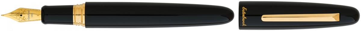 Esterbrook Estie Fountain Pen - Ebony Gold Trim