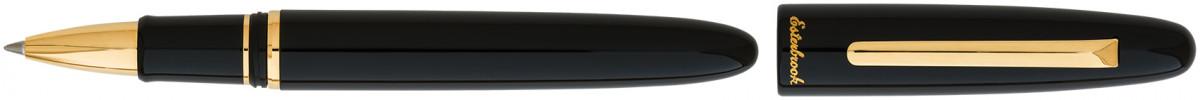 Esterbrook Estie Rollerball Pen - Ebony Gold Trim