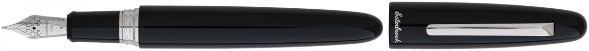 Esterbrook Estie Oversize Fountain Pen - Ebony Palladium Trim