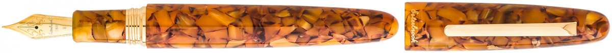 Esterbrook Estie Oversize Fountain Pen - Honeycomb Gold Trim