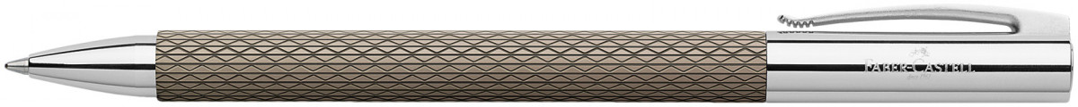 Faber-Castell Ambition OpArt Ballpoint Pen - Black Sand