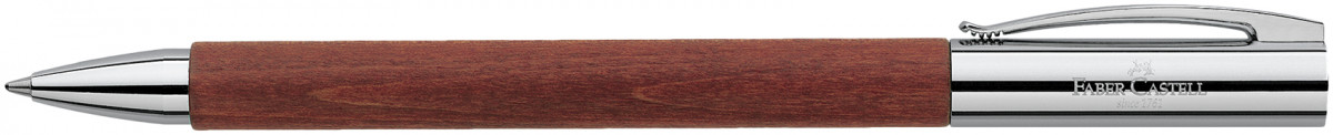 Faber-Castell Ambition Ballpoint Pen - Brown Pearwood
