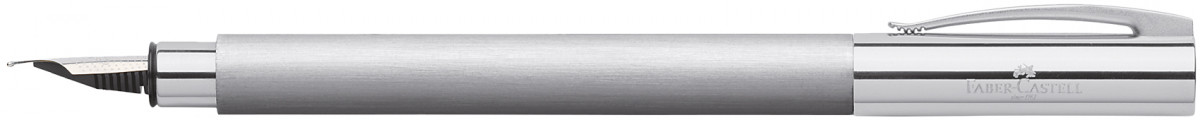 Faber-Castell Ambition Fountain Pen - Stainless Steel