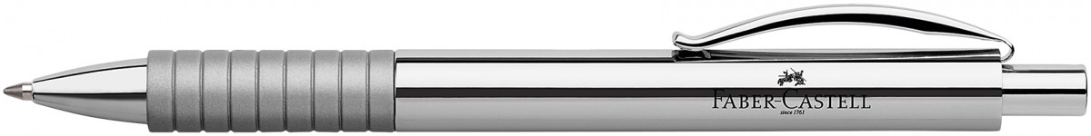 Faber-Castell Basic Ballpoint Pen - Polished Chrome