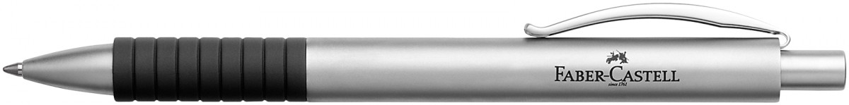 Faber-Castell Basic Ballpoint Pen - Matt Chrome