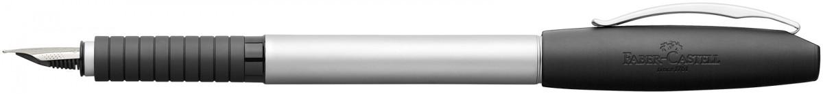 Faber-Castell Basic Fountain Pen - Matt Chrome