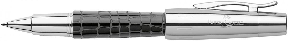 Faber-Castell e-motion Rollerball Pen - Croco Black
