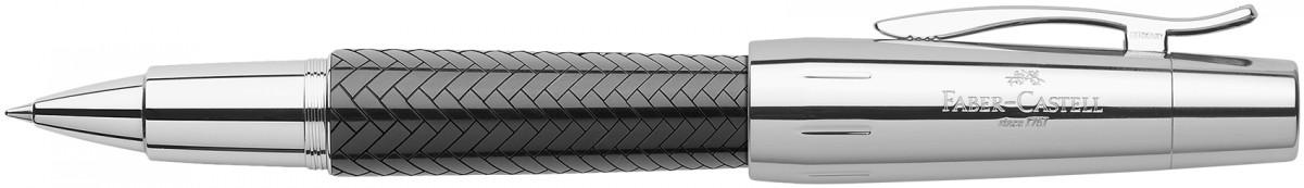 Faber-Castell e-motion Rollerball Pen - Parquet Black