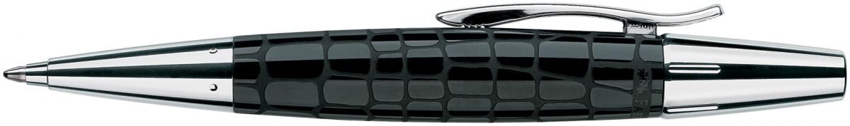 Faber-Castell e-motion Ballpoint Pen - Croco Black