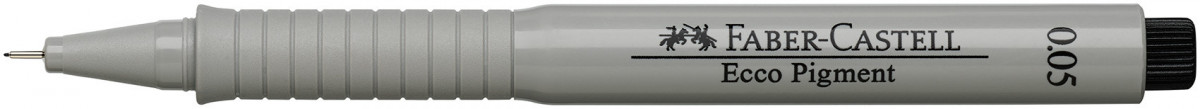 Faber-Castell Ecco Pigment Fineliner Pen - Black