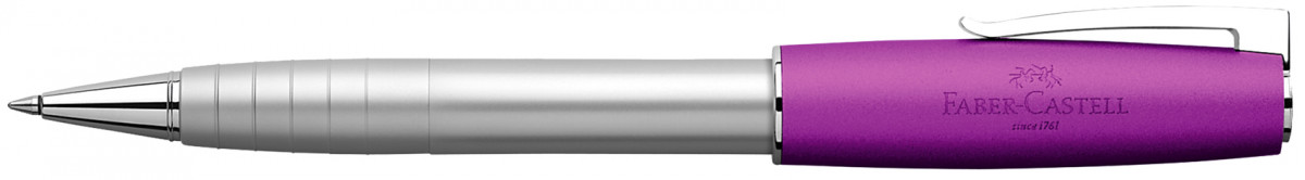 Faber-Castell Loom Rollerball Pen - Metallic Violet