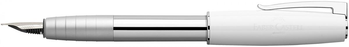 Faber-Castell Loom Fountain Pen - Piano White