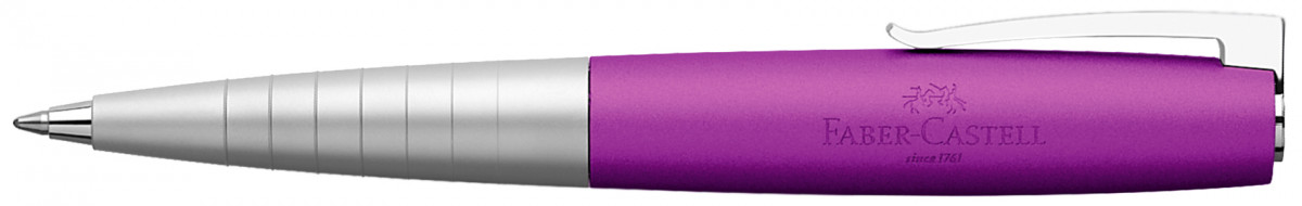 Faber-Castell Loom Ballpoint Pen - Metallic Violet