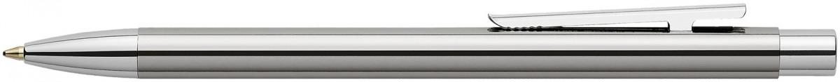 Faber-Castell Neo Slim Ballpoint Pen - Shiny Stainless Steel