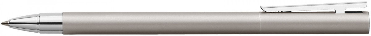 Faber-Castell Neo Slim Rollerball Pen - Matte Stainless Steel