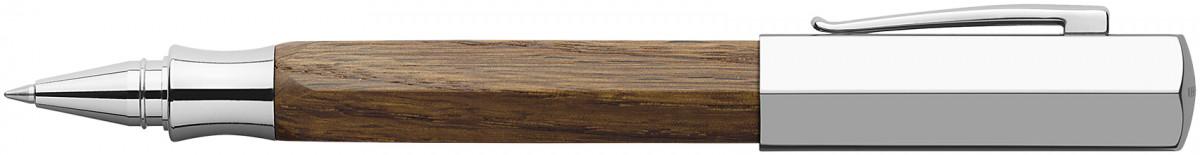 Faber-Castell Ondoro Rollerball Pen - Smoked Oak Wood
