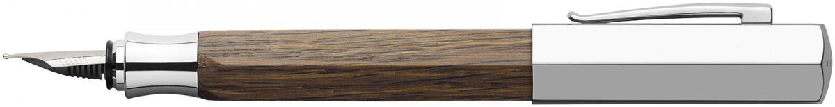 Faber-Castell Ondoro Fountain Pen - Smoked Oak Wood