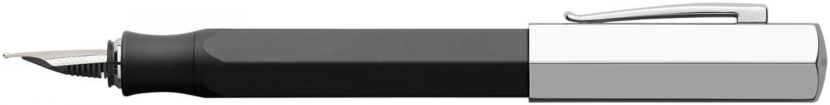 Faber-Castell Ondoro Fountain Pen - Graphite Black
