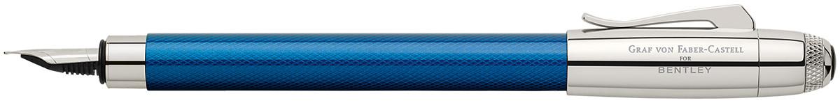Graf von Faber-Castell for Bentley Fountain Pen - Sequin Blue