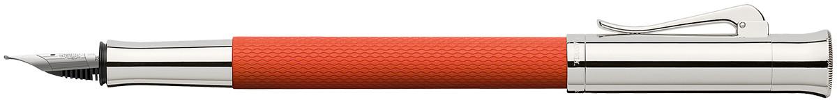 Graf von Faber-Castell Guilloche Fountain Pen - Burned Orange