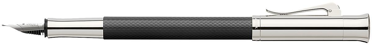 Graf von Faber-Castell Guilloche Fountain Pen - Black