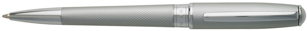Hugo Boss Essential Ballpoint Pen - Matte Chrome