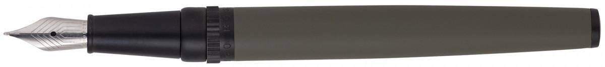 Hugo Boss Gear Fountain Pen - Matrix Khaki