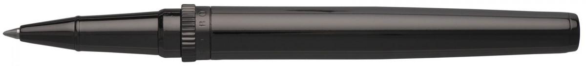 Hugo Boss Gear Rollerball Pen - Dark Metal Chrome