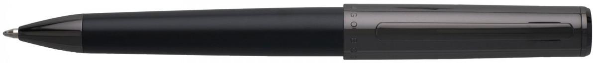 Hugo Boss Minimal Ballpoint Pen - Dark Chrome