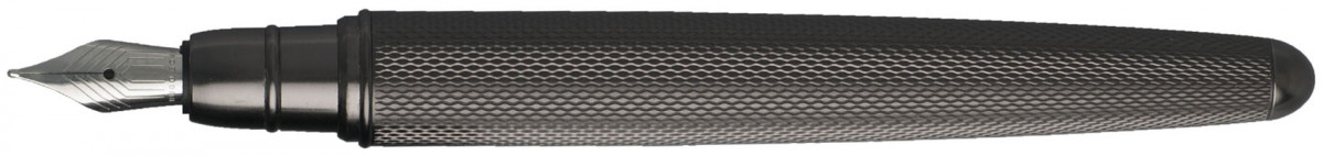 Hugo Boss Pure Fountain Pen - Matte Dark Chrome