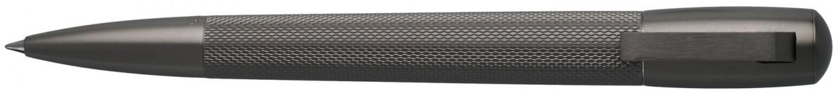 Hugo Boss Pure Ballpoint Pen - Matte Dark Chrome