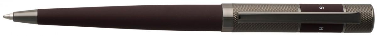 Hugo Boss Ribbon Ballpoint Pen - Burgundy