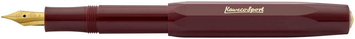 Kaweco Classic Sport Fountain Pen - Bordeaux Red