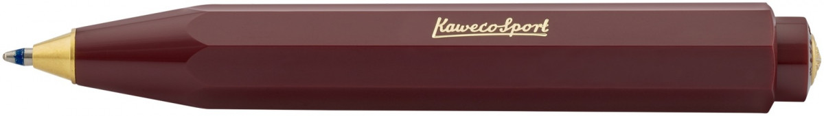 Kaweco Classic Sport Ballpoint Pen - Bordeaux Red