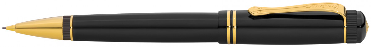 Kaweco DIA 2 Pencil - Black Gold Trim